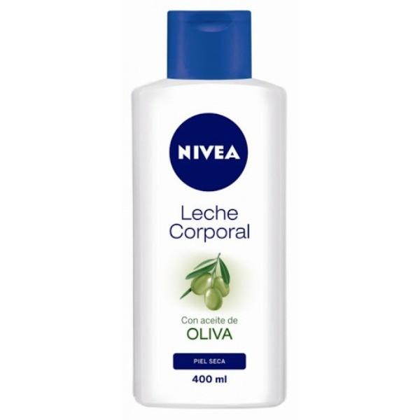 Nivea leche corporal Aceite de Oliva Piel Seca 400 ml