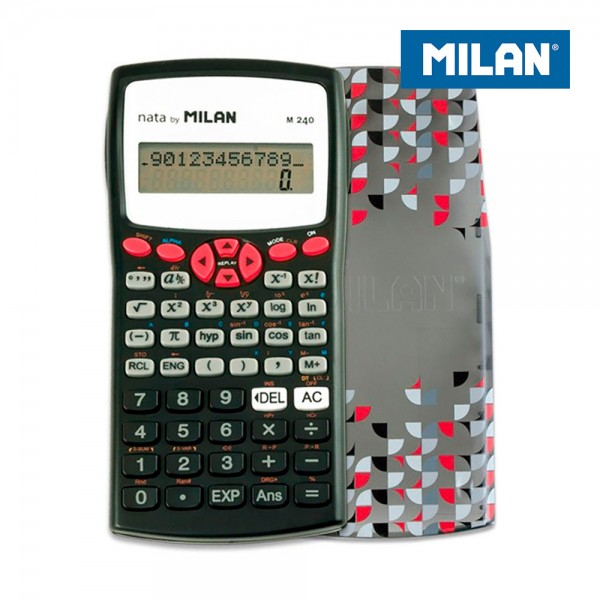 Blister calculadora cientifica m240 silver milan